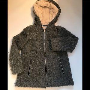 Zara Trafaluc Outerwear Grey hooded jacket XS